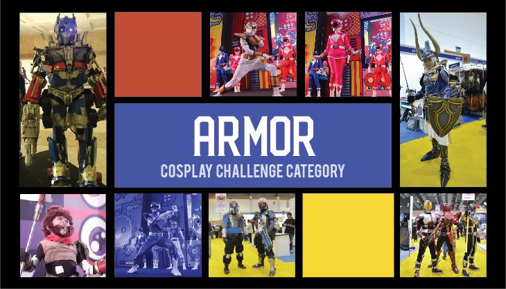 POPCON Cosplay Challenge: ARMOR