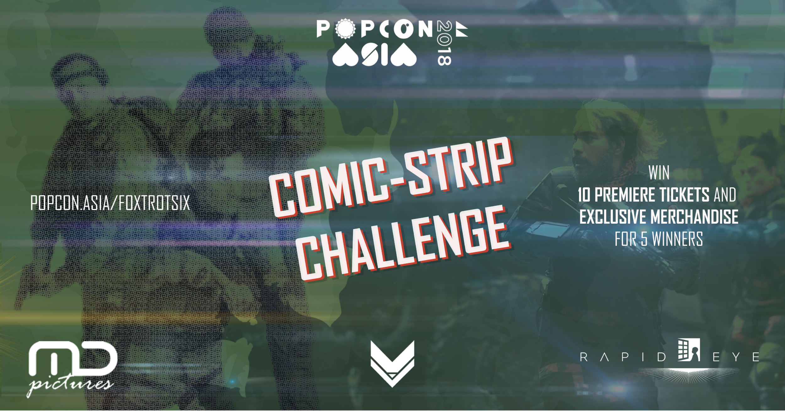 Foxtrot Six Comic Strip Challenge