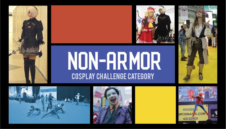 POPCON Cosplay Challenge: NON-ARMOR (Kain)